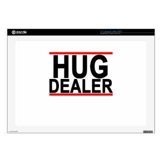 hug dealer Women's T-Shirts.png Skins For Laptops
