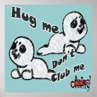 Hug, don;t Club Poster