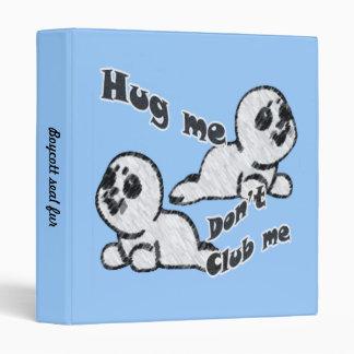 Hug, don't Club Binder