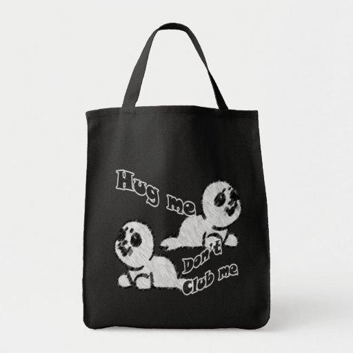 Hug, don't Club Tote Bag