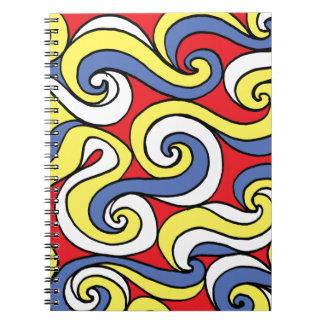 Hug Fair Fortunate Friendly Spiral Notebook