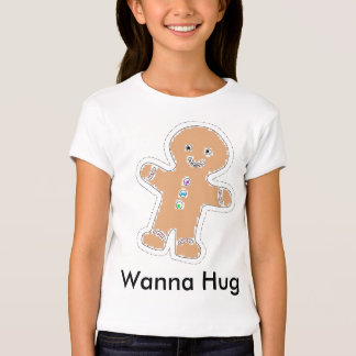 Hug From the Gingerbread Man T-Shirt