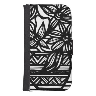 Hug Honored Intellectual Upright Galaxy S4 Wallet Cases