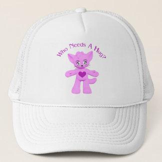 Hug Kitty Cat Toon Hat