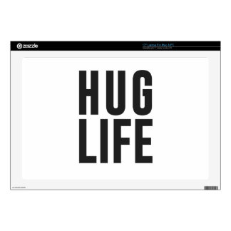 """Hug Life 17"""" Laptop Skin"""
