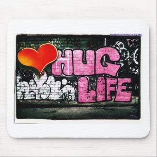 Hug Life Design Mouse Pad