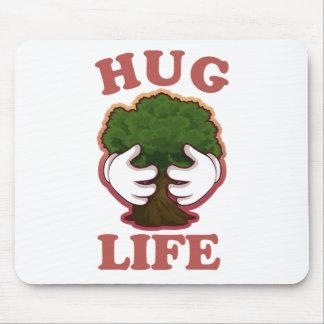 Hug Life Tree Hugger Mouse Pad