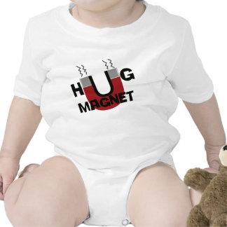 Hug magnet design bodysuit