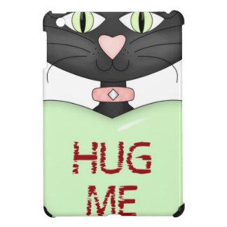 Hug me CAT-conversation heart iPad Mini Cases