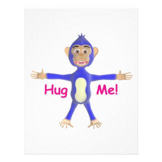 Hug Me Chimp Letterhead