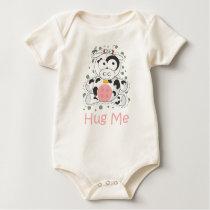 HUG ME (Cow) Baby Bodysuit