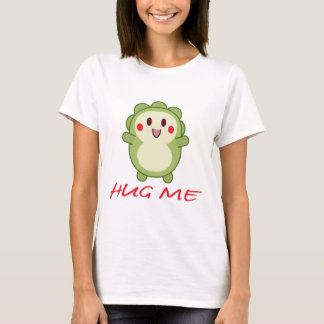 HUG ME Cute Green Critter T-Shirt