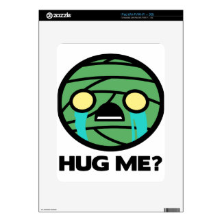 Hug Me? Decals For The iPad
