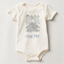 HUG ME (Elephant) Baby Bodysuit