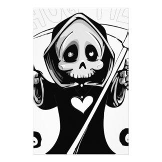 Hug Me Grim Reaper Stationery