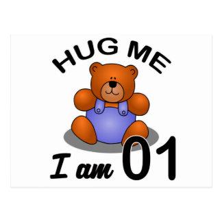 Hug Me I am 1 Postcard