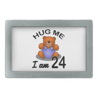 Hug Me I am 24 Belt Buckle