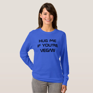HUG ME IF YOU'RE VEGAN SWEATSHIRT