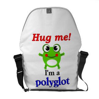 Hug me! I'm a polyglot Courier Bag