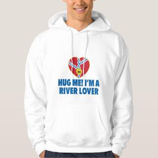 Hug Me! I'm a River Lover Hoodie