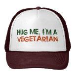 Hug Me I'M A Vegetarian Hat