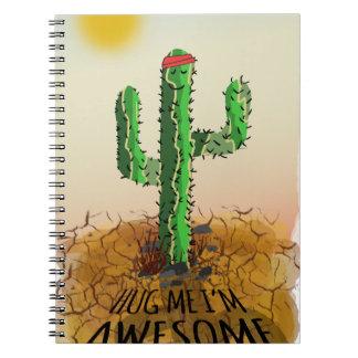 Hug me im awesome notebook