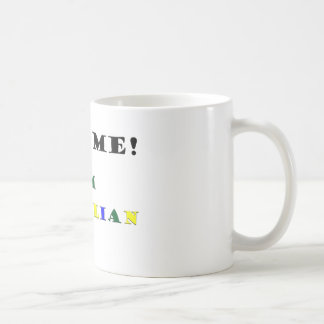 Hug Me Im Brazilian Coffee Mug