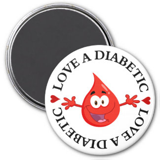 Hug Me I'm Diabetic Magnet
