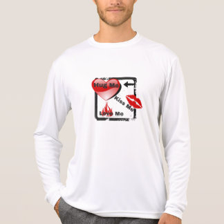 Hug Me-Kiss Me-Love Me Valentine's Day or Any Day T-Shirt
