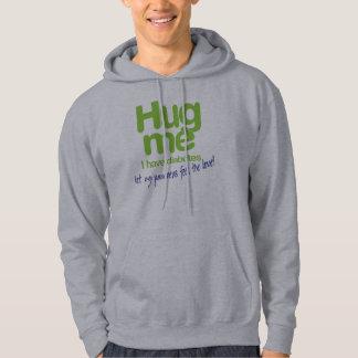 Hug Me!  let my pancreas feel the love! – Diabetes Hooded Sweatshirts