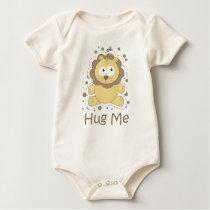 HUG ME (Lion) Baby Bodysuit