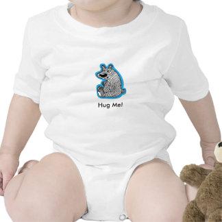 Hug Me Polar Bear Baby Creeper