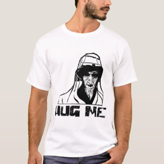 HUG ME Scary Angry Old Man T-Shirt