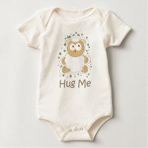 HUG ME (Sheep) Baby Bodysuit