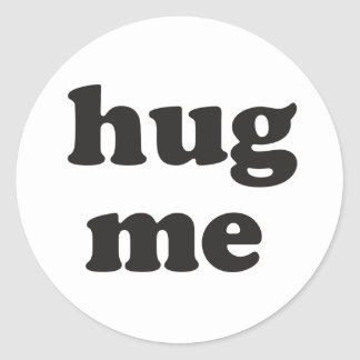 Hug Me Sticker