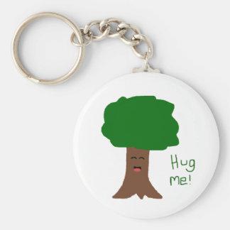 Hug Me Tree Keychain