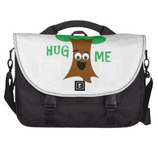 Hug Me (Treehugger) Laptop Messenger Bag