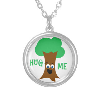 Hug Me (Treehugger) Personalized Necklace