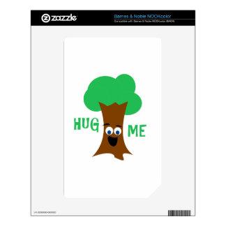 Hug Me (Treehugger) Skins For NOOK Color