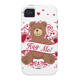 Hug Me! Valentine's Day Teddy Bear iPhone 4 Cases