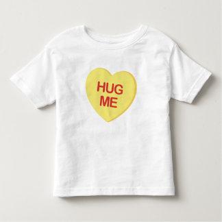 Hug Me Yellow Candy Heart Toddler T-shirt