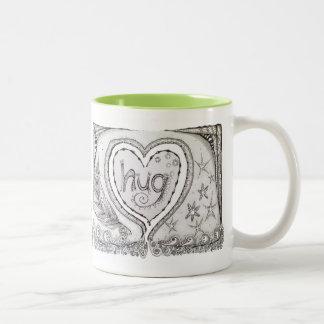 Hug Mug! Two-Tone Coffee Mug