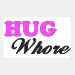 Hug Rectangular Sticker