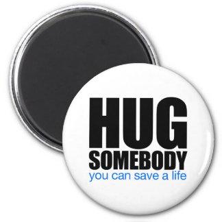 Hug Refrigerator Magnets