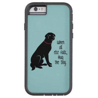 """Hug the Dog"" iPhone Case"