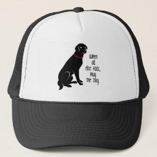 """Hug the Dog"" Trucker Cap"