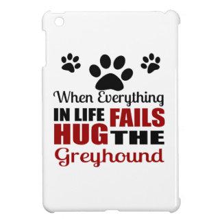 Hug The Greyhound Dog iPad Mini Covers