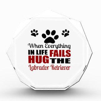 Hug The Labrador Retriever Dog Award