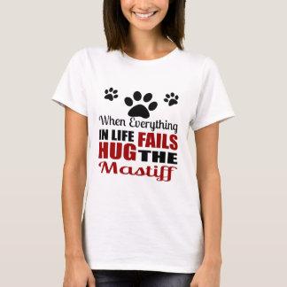 Hug The Mastif Dog T-Shirt