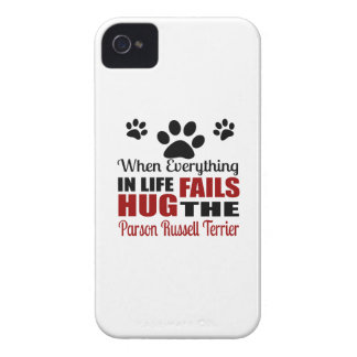 Hug The Parson Russell Terrier Dog iPhone 4 Case-Mate Case